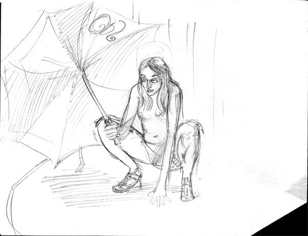 Dr Sketchys Umbrella Crouch.
